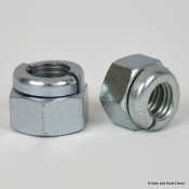 Aerotight Self-Locking Nuts, Imperial, UNF, Steel