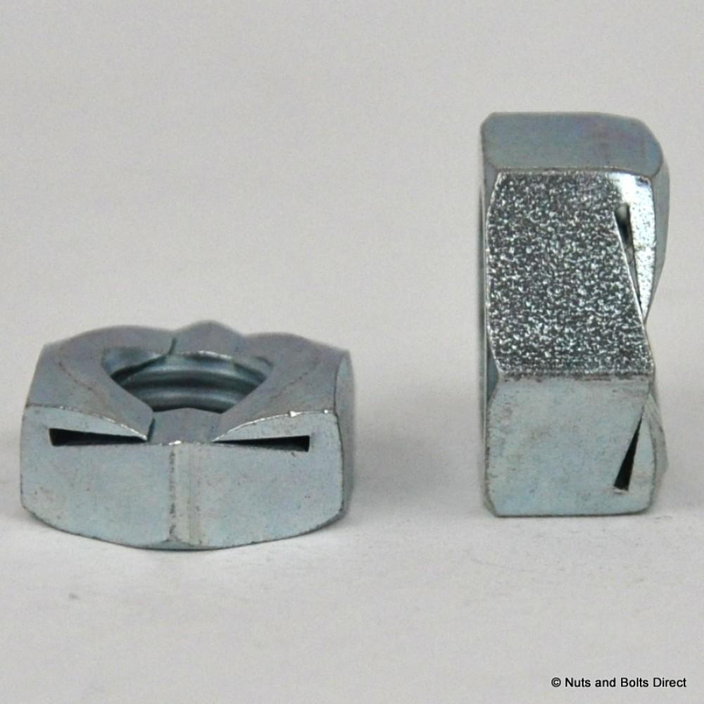 M10 Binx ® Nuts-Grade 5 in acciaio zincato-Self bloccaggio bloccare 10mm