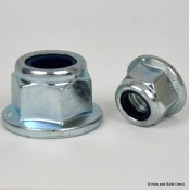 Flange Nylon Insert Self-Locking Nuts